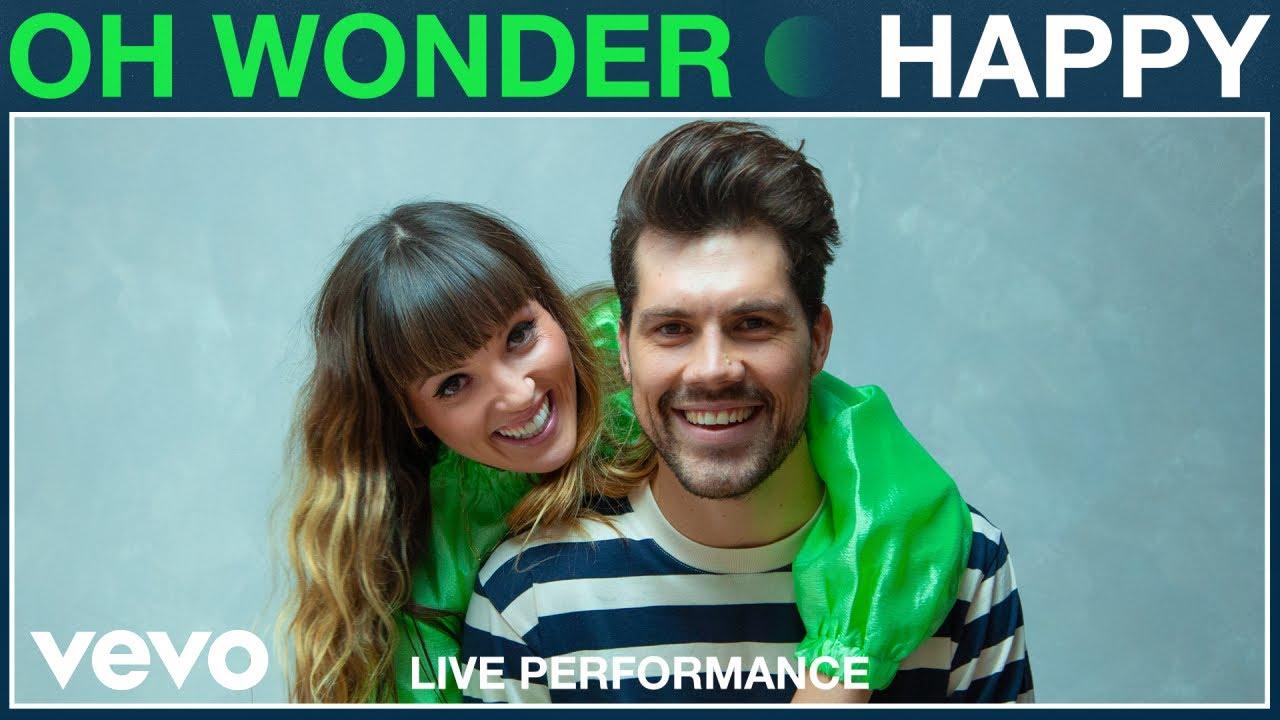 Oh Wonder - Happy (Live Performance) | Vevo
