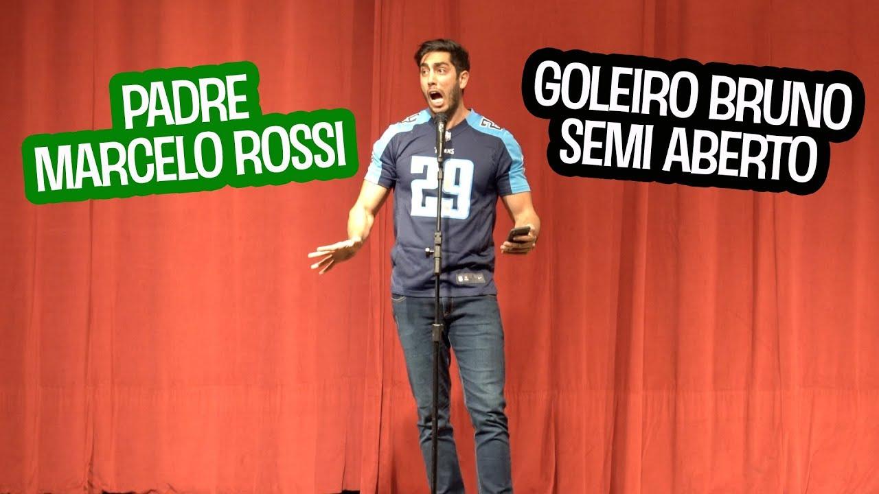 STAND UP: Empurraram o Padre Marcelo Rossi e Goleiro Bruno no Semi Aberto - JONATHAN NEMER