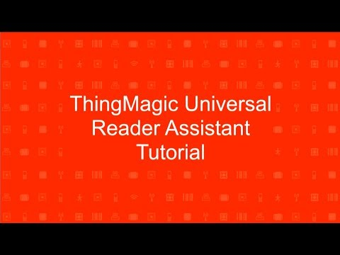 How-To Read & Write RFID Tags With ThingMagic's URA