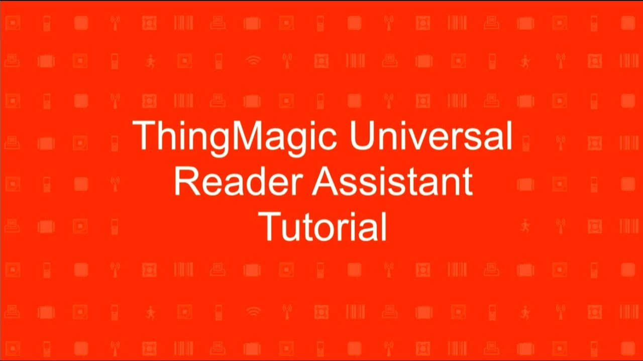 How-To Read & Write RFID Tags with the ThingMagic URA