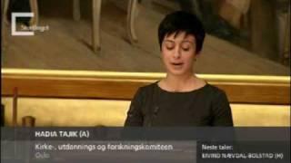 Hadia Tajik: Sex er også utenrikspolitikk
