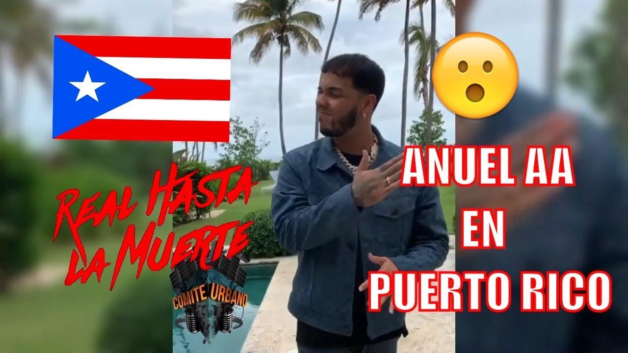 ANUEL AA EN PUERTO RICO 😮