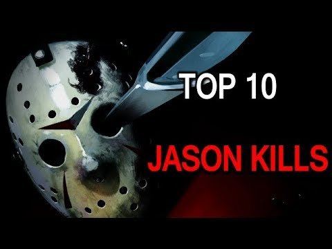 (Friday the 13th) My Top 10 Jason Vorhee's Kills