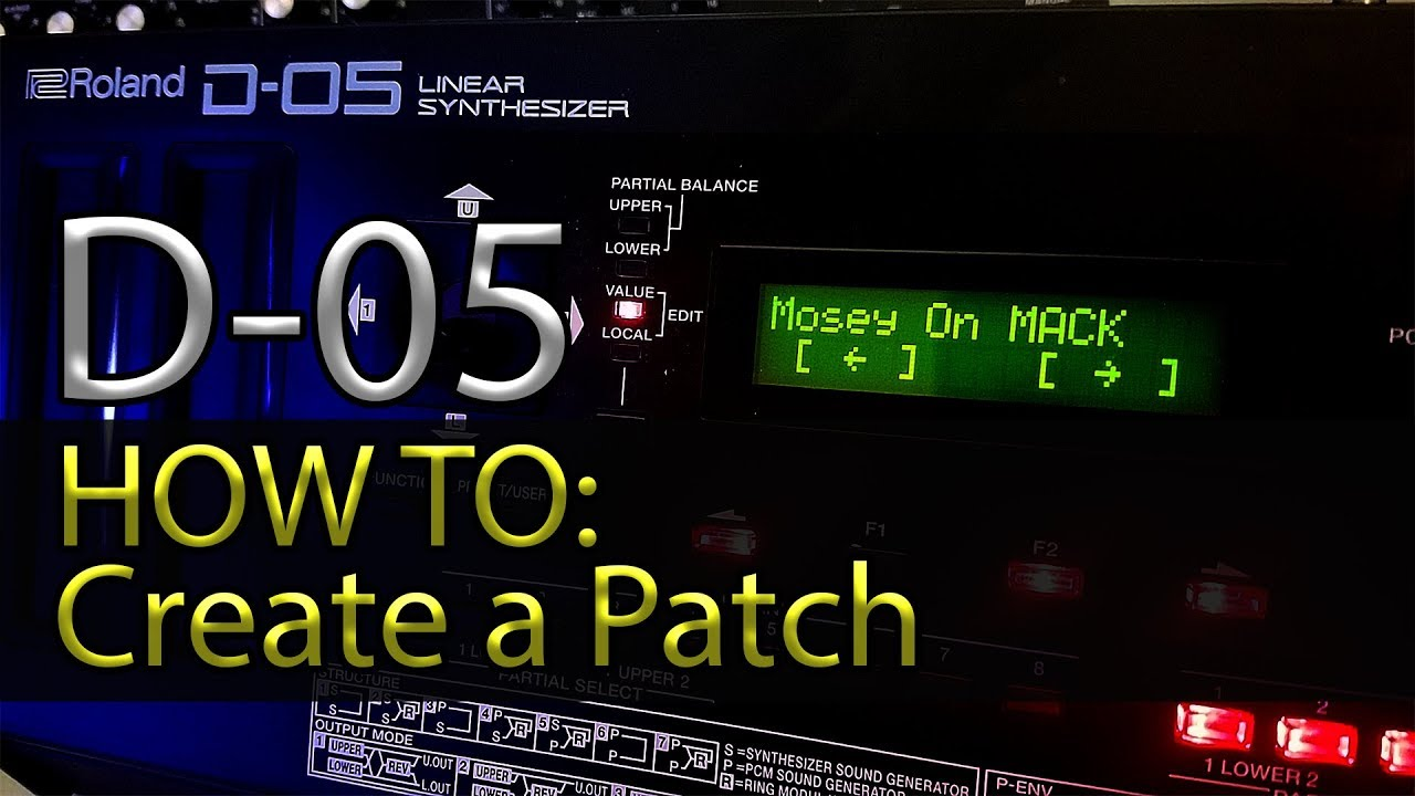 Roland D50 Custom Patches