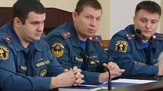 Заседание Сергиево-Посадской районной комиссии по ЧС и пожарной безопасности