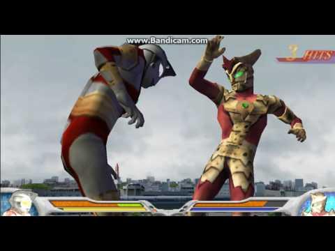 (PPSSPP) Ultraman Fighting Evolution 0 Ace Robot Vs Ace Killer