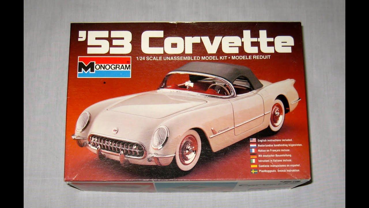 '53 Corvette by Monogram