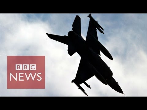 The battle in Syria's skies - BBC News