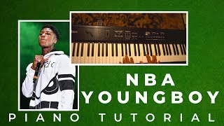 How To Play Lonely Child YoungBoy Never Broke Again - EASY PIANO TUTORIAL