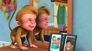 A Naughty Monkey Song   Bengali Rhymes for Children   Infobells