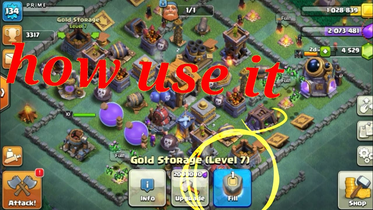 How Rune Of Gold Works In Clash Of Clans By Blackbull 22