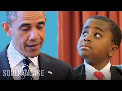 Kid President meets the President of the United States of Am