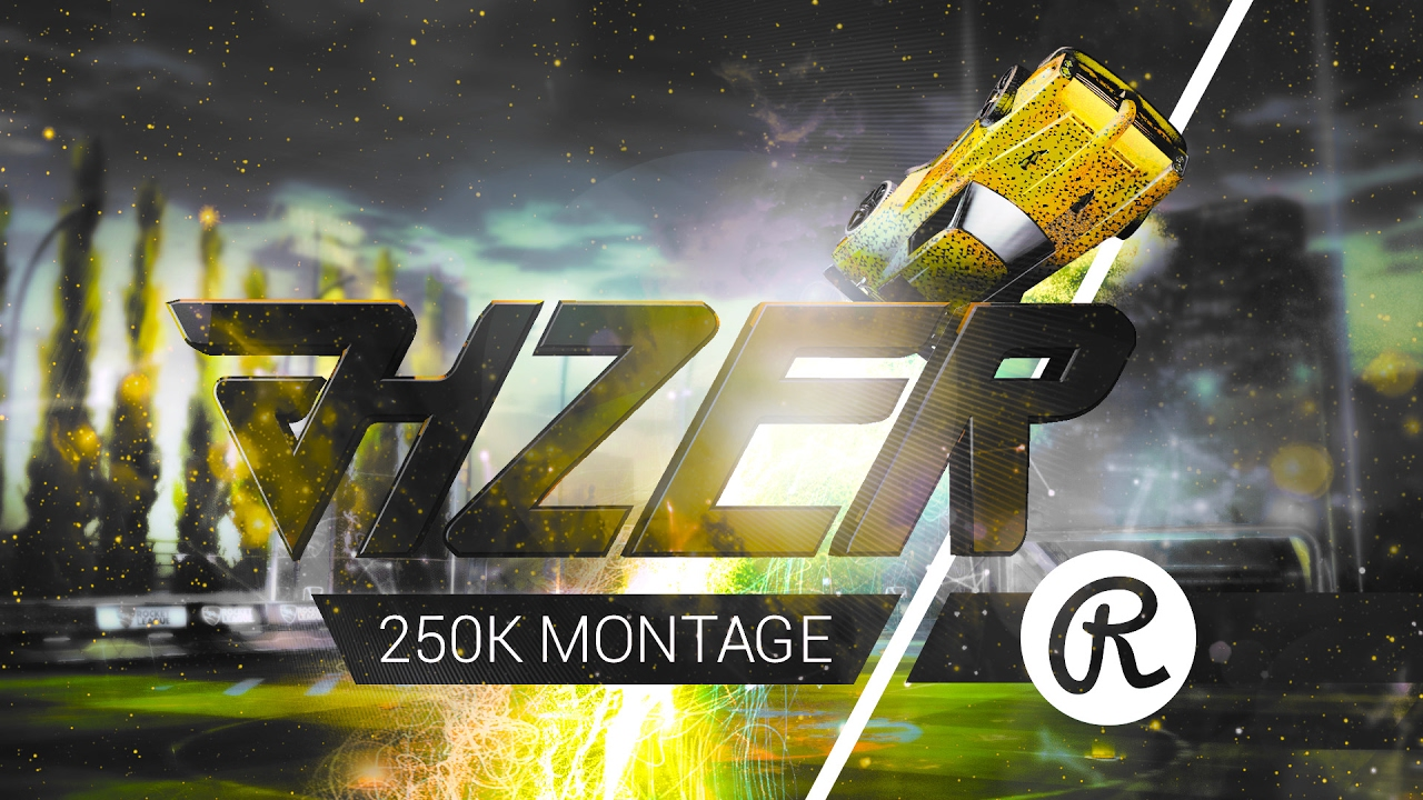 rocket league jhzer 250k montage editing by room108 youtube