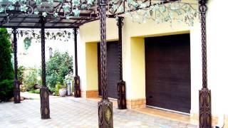 видео Навесы из поликарбоната во дворе частного дома