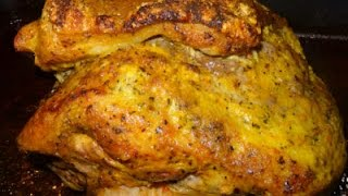 Pernil - Puerto Rican Style Roasted Pork-Garlic Roasted Pork Shoulder