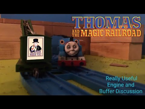 TSC Remakes: TATMR: Really Useful Engine and Buffer Discussion | Peter Fonda Tribute