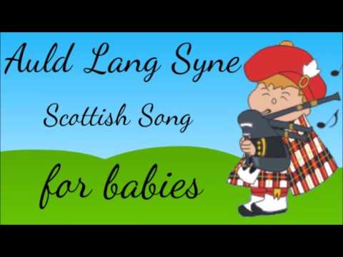 1 HOUR Sleeping Lullaby - Auld Lang Syne - Scottish Folk Song