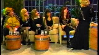 "The Bangles on ""Late Night"" with Joan Rivers"