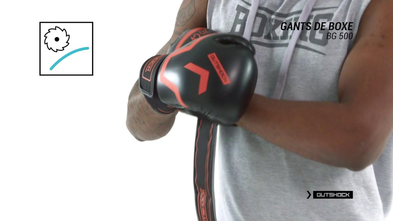 Luva de boxe 500 Outshock - Exclusividade Decathlon - YouTube f8878402a594a