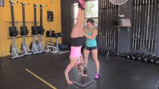 Learning Handstand Push-Ups: Gymnastics Tips