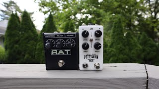 The PettyJohn Electronics Rous vs. The Proco Rat! Presented by AJL music!