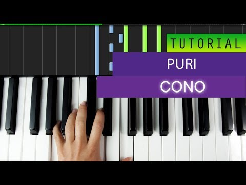 Puri x Jhorrmountain x Adje - Coño - Piano Tutorial + MIDI