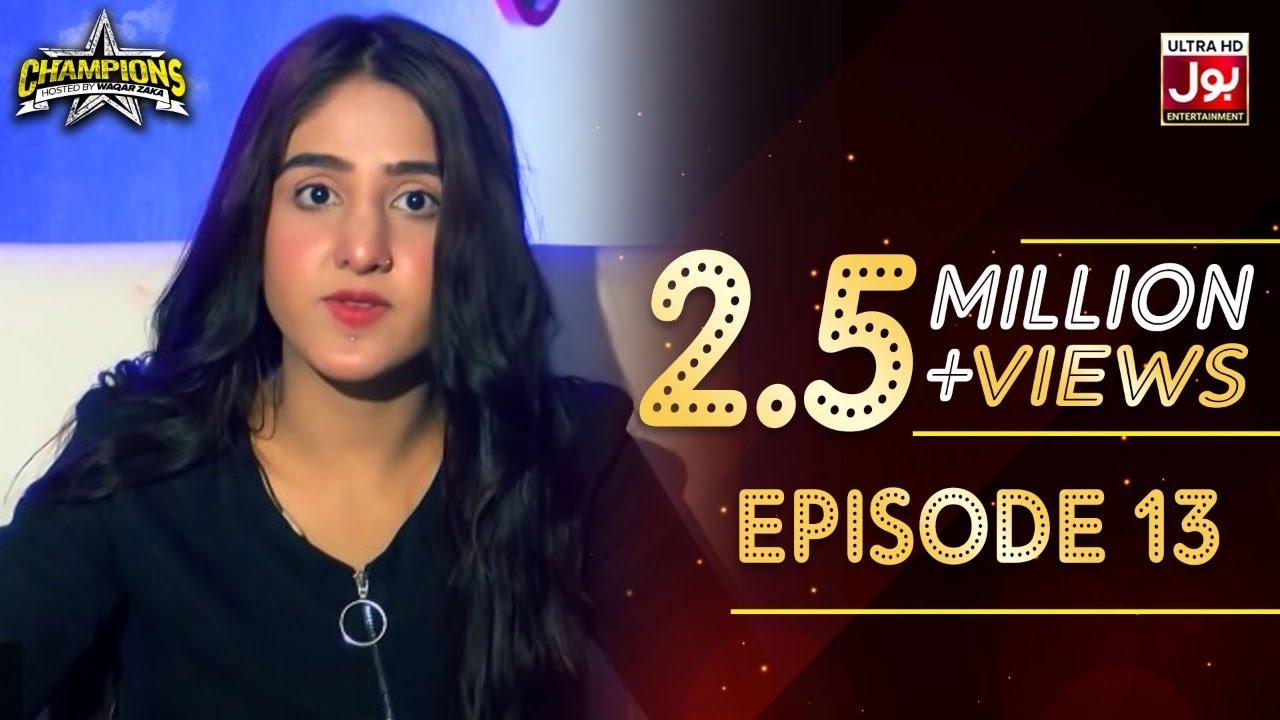 Download Champions With Waqar Zaka Episode 13 | Champions BOL House | Waqar Zaka Show