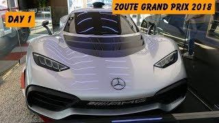 Supercars In Knokke, Zoute Grand Prix 2018 Day 1 - AMG PROJECT ONE, Mclaren Senna, Lamborgini URUS