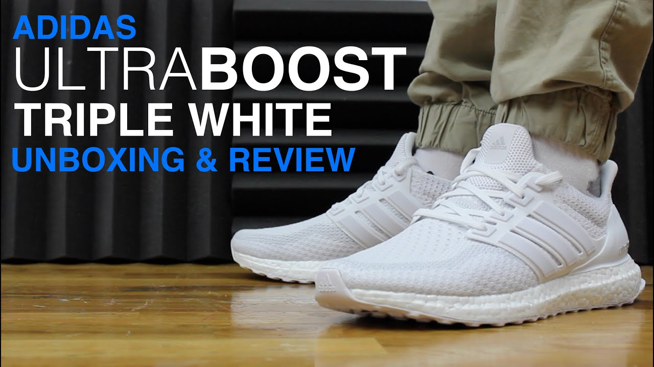 Adidas Ultra Boost Triple White 5