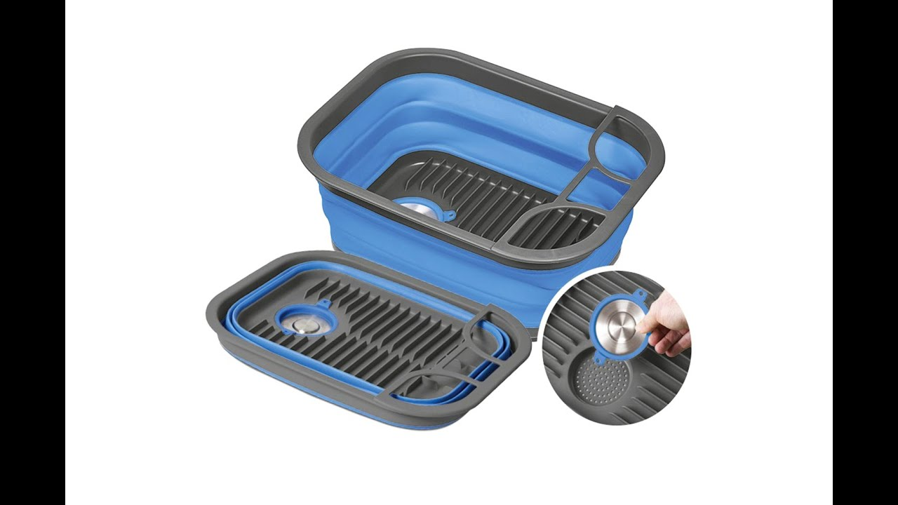 Companion Pop Up Dish Tray And Tub COMP771B - YouTube