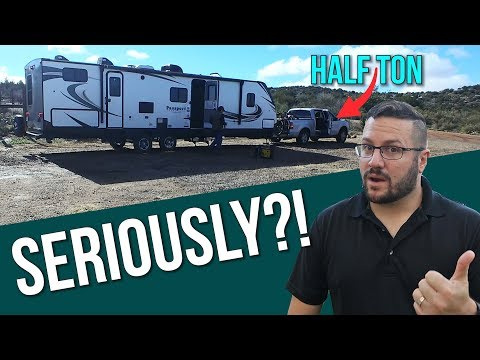 Towing 37ft Travel Trailer With A Half Ton SAFELY // Ford F150 Upgrades