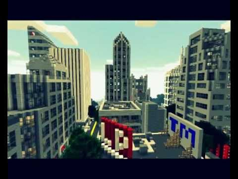 Biggest and most detailed Minecraft city ever : Minecraft