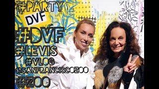 ЗООПАРК Сан Франциско с Полей | Презентация коллаборации Diane Von Furstenberg и Levi's