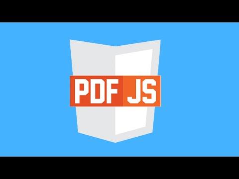 PDF.js Tutorial For Dummies!