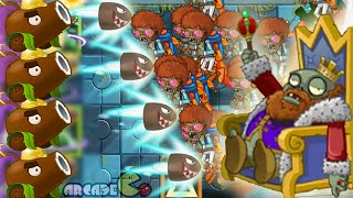 Plants Vs Zombies 2 Dark Ages: Part 2 KungFu World Cocont Cannon On Fire Arthur's Challenge Level 33