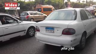 بالفيديو.. تعرف على خريطة الحالة المرورية المسائية بالقاهرة الكبرى