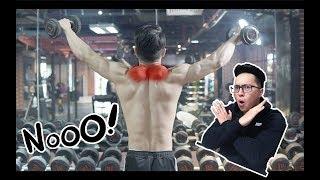5 LỖI SAI KHI TẬP VAI | 99% BEGINNERS MẮC LỖI NÀY| An Nguyen Fitness