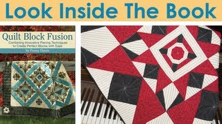 Look Inside Quilt Block Fusion