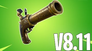 NEW FLINT KNOCK PISTOL! Impulse Grenades Return!! Flint Lock Pistol Update FORTNITE V811 PATCH NOTES