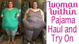 1867e095c09 Woman Within Plus Size Pajama Haul and Try On