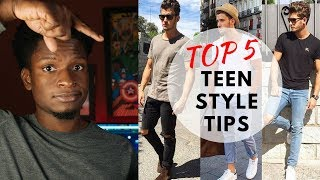 Top 5 Teen Style Tips For 2018 Must Watch