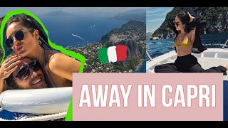 BACK IN ITALIA CAPRI! AND THIS TIME AWAY WITH JOUER !!