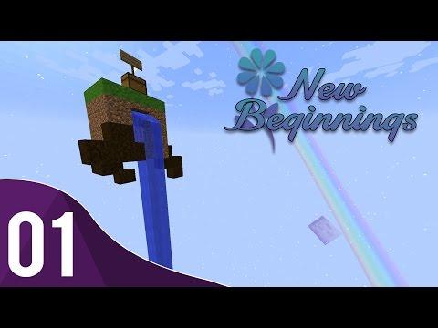 New Beginnings | Ep.1 | Begin! | Modded 1.9 Skyblock