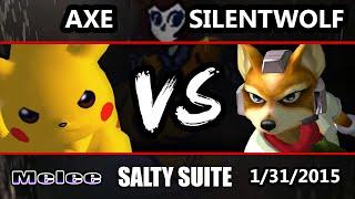 VGBC's Salty Suite - MOR | Axe (Pikachu) Vs. Westballz (Falco) SSBM - Super Smash Bros. Melee
