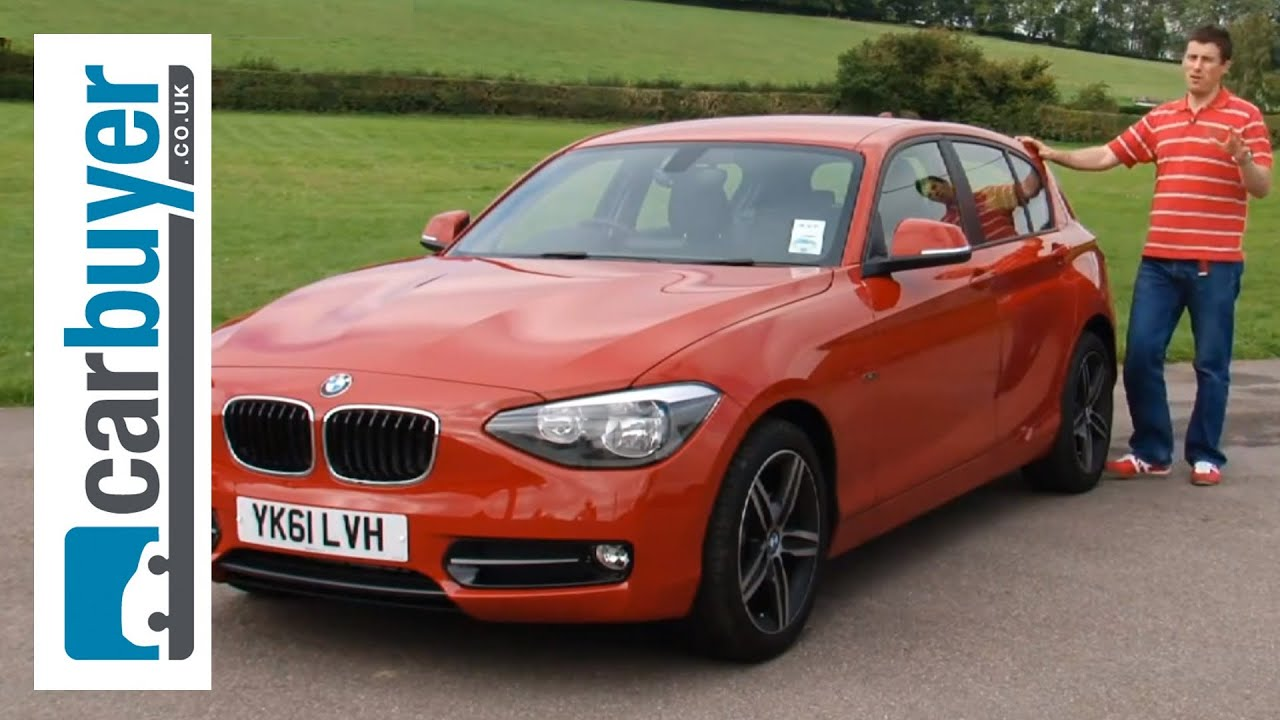 bmw 1 series hatchback 2013 review carbuyer youtube. Black Bedroom Furniture Sets. Home Design Ideas