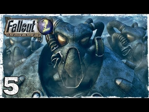 Смотреть прохождение игры Fallout 2. Серия 5 - Городок трапперов.