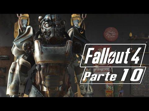 Fallout 4 #10 - Investigando Matriz de Satelites | Gameplay Español |