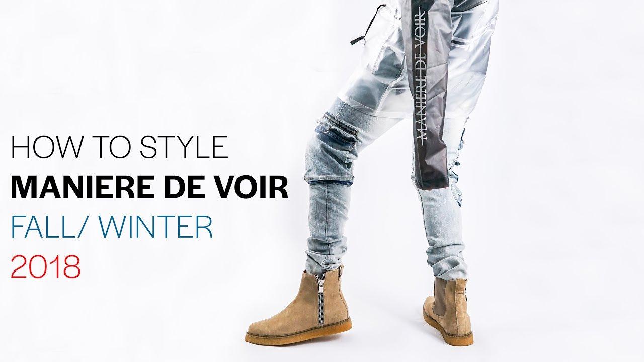 HOW TO STYLE WINTER 2018 With MANIERE DE VOIR   STREETWEAR HAUL