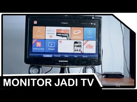 Menjadikan Monitor Tua menjadi TV untuk Indihome USEE TV