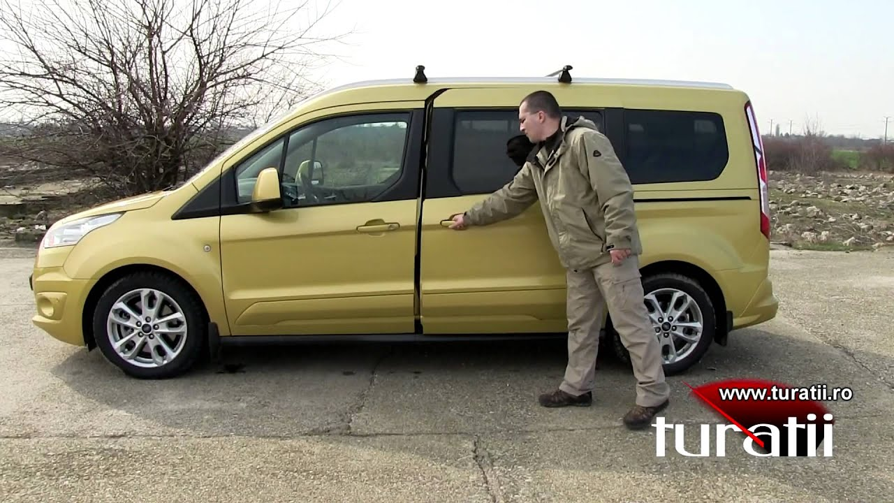 Ford tourneo connect 1 6l tdci titanium explicit video 1 of 3 youtube